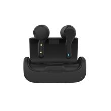 Sluchátka Bluetooth bezdrátová TWS QUOA - dobíjecí pouzdro - černá