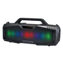 Bluetooth reproduktor / soundbox REBELTEC - LED podsvícení - TWS bezdrátový - černý