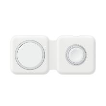 Originální bezdrátová nabíječka APPLE Magsafe Duo Charger MHXF3ZM/A - bílá