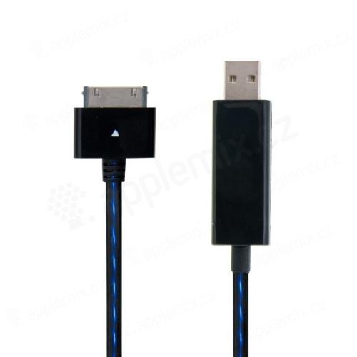 Synchronizační a nabíjecí kabel s 30pin konektorem pro Apple iPhone / iPad / iPod