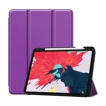 "Pouzdro pro Apple iPad Air 4 /  Pro 11"" (2018) / 11"" (2020) - stojánek + prostor pro Apple Pencil - fialové"