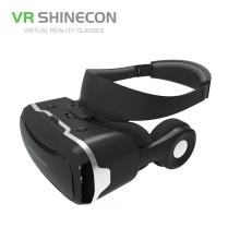 Virtuální brýle VR SHINECON 4 Generation 3D + sluchátka - černé