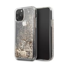 Kryt GUESS pro Apple iPhone 11 Pro - plastový - zlaté třpytky
