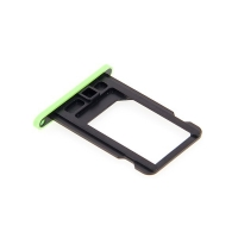 Rámeček / šuplík na Nano SIM pro Apple iPhone 5C - zelený