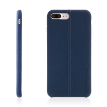 Kryt USAMS pro Apple iPhone 7 Plus / 8 Plus - umělá kůže