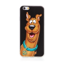 Kryt Scooby Doo pro Apple iPhone 6 / 6S - gumový - černý