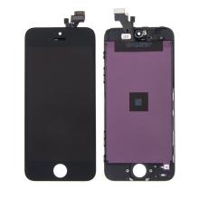 LCD panel + dotykové sklo (touch screen digitizér) pro Apple iPhone 5 - černý - kvalita A+