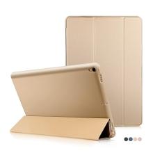 Pouzdro / kryt pro Apple iPad Pro 10,5 - funkce chytrého uspání + stojánek - silikon / umělá kůže - zlaté