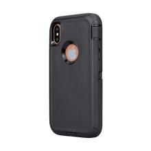 Kryt pro Apple iPhone Xs Max - odolný - plast / guma - černý