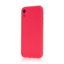 Kryt pro Apple iPhone Xr - příjemný na dotek - silikonový