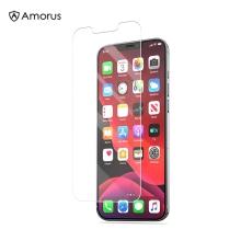 Tvrzené sklo (Tempered Glass) AMORUS pro Apple iPhone 13 / 13 Pro - 2D - 0,26mm