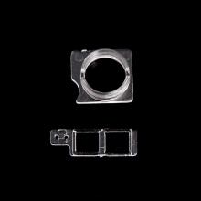 Vymezovací kroužek přední kamery + díl k uložení proximity senzoru pro Apple iPhone 8 / SE (2020) - kvalita A+