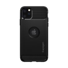 Pouzdro SPIGEN Rugged Armor pro Apple iPhone 11 Pro Max - stojánek - černé