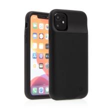 Externí baterie / kryt pro Apple iPhone 11 - 4500 mAh - matná - černá
