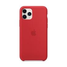 Originální kryt pro Apple iPhone 11 Pro - silikonový - červený