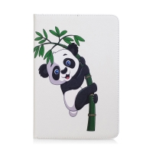 Pouzdro pro Apple iPad mini 4 / 5 - stojánek + prostor pro platební karty - panda na větvi