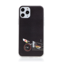 Kryt HOT WHEELS - pro Apple iPhone 11 Pro Max - gumový - formule - černý