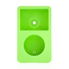 Plastové pogumované pouzdro pro Apple iPod classic 80GB / 120GB / 160GB (Late 2009) - zelené