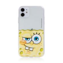 Kryt Sponge Bob pro Apple iPhone 11 - gumový - potutelný Sponge Bob