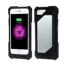 MFi certifikovaná externí baterie / kryt iFans pro Apple iPhone 6 / 6S - 3500 mAh - černá