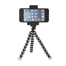 Univerzální stativ - stojánek s držákem a flexibilními nohami pro Apple iPhone a další mobilní telefony do šíře cca 7 cm