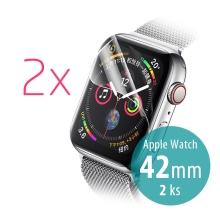 Ochranná hydrogelová fólie ROCK pro Apple Watch 42mm Series 1 / 2 / 3 - přední - 2ks
