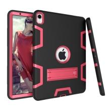 """Kryt / pouzdro pro Apple iPad Pro 11"""" - outdoor - odolný - plastový / silikonový - černý / růžový"""