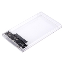 Rámeček / BOX SATA III ORICO - USB 3.0 - pevný - průhledný