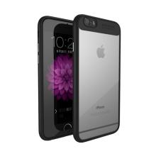Kryt IPAKY pro Apple iPhone 6 / 6S - plastový / gumový - černý
