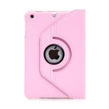 Pouzdro / kryt pro Apple iPad mini / mini 2 / mini 3 - 360° otočný držák - světle růžové
