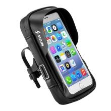 Sportovní pouzdro na kolo / motorku pro Apple iPhone Xr / 11 - se zipem - voděodolné - černé