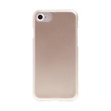 Gumový kryt Mercury pro Apple iPhone 7 / 8 - jemně třpytivý - zlatý