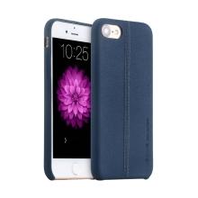 Kryt USAMS pro Apple iPhone 7 / 8 - umělá kůže - modrý