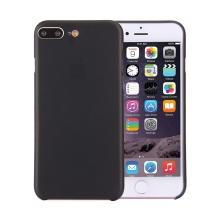 Kryt / obal pro Apple iPhone 7 Plus / 8 Plus ochrana čočky - plastový / tenký - černý