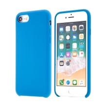 Kryt pro Apple iPhone 7 / 8 - gumový - příjemný na dotek - modrý