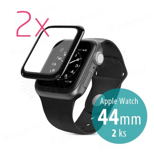 Tvrzené sklo (Tempered Glass) WIWU pro Apple Watch 44mm Series 4 / 5 / 6 / SE- 3D okraj