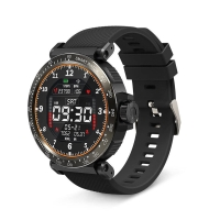Fitness chytré hodinky BLITZWOLF - tlakoměr / krokoměr / měřič tepu - Bluetooth - voděodolné - černé