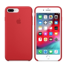 Originální kryt pro Apple iPhone 7 Plus / 8 Plus - silikonový - červený