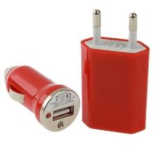 3v1 nabíjecí sada pro Apple iPhone / iPod - EU adaptér, autonabíječka a 30pin kabel