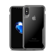 Kryt IPAKY pro Apple iPhone X - plastový / gumový
