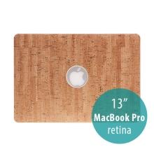 Obal / kryt pro Apple MacBook Pro 13 Retina (model A1425, A1502) - plastový tenký / potah umělá kůže