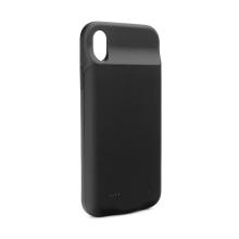 Externí baterie / kryt pro Apple iPhone Xs Max - 4000 mAh - matná - černá