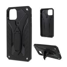 Kryt pro Apple iPhone 11 Pro - odolný - plast / guma - stojánek - černý