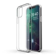"""Kryt pro Apple iPhone 12 / 12 Pro  (6,1"""") - gumový - průhledný"""