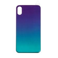 Fólie RURIHAI pro Apple iPhone X / Xs - silná - plast / guma - modrá / fialová