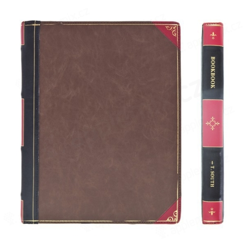 Ochranné pouzdro ve stylu staré knihy pro Apple iPad 2. / 3. / 4.gen.