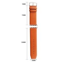 Řemínek Kakapi pro Apple Watch 44mm Series 4 / 42mm 1 2 3 + šroubovák - kožený
