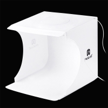 Fotostan PULUZ / Lignt box / softbox - bílý - LED osvětlení