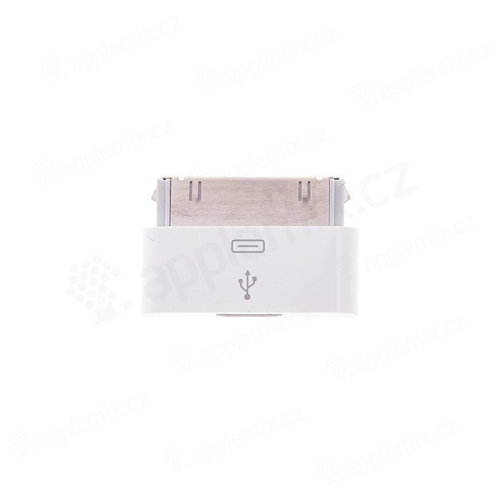 Redukce z Micro USB na 30pin konektor pro Apple iPhone / iPad / iPod - kvalita A+