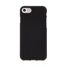 Kryt MERCURY Soft feeling pro Apple iPhone 7 / 8 - gumový - černý